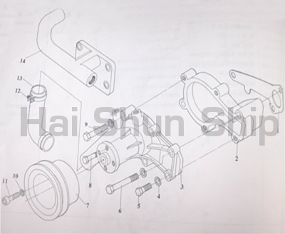 Cooling System Assy