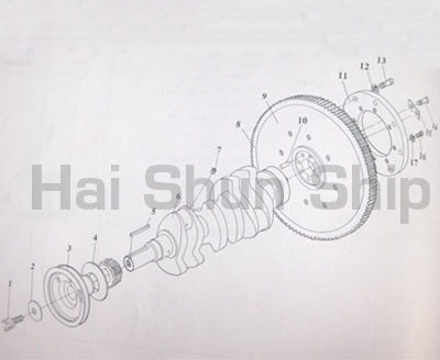Crankshaft-Flywheel Assy