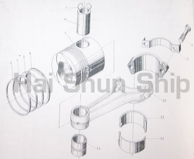 Piston-Connecting Rod Assy