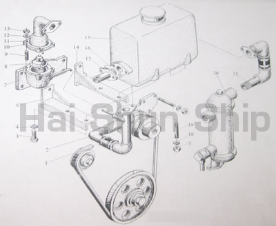 Seawater and Fresh Water Heat Exchanger Assy