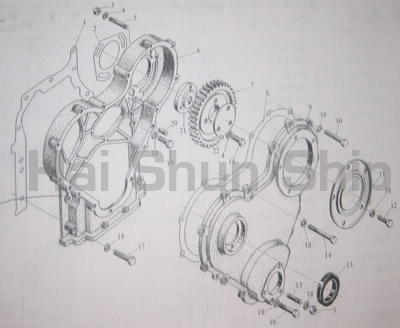 Timing Gear Case Assy