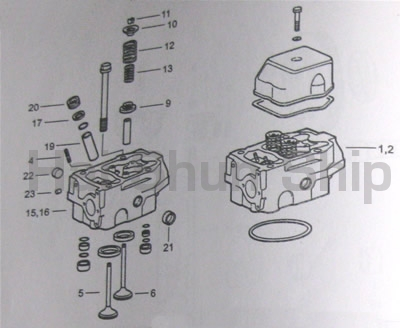 Cylinder Head With Cover